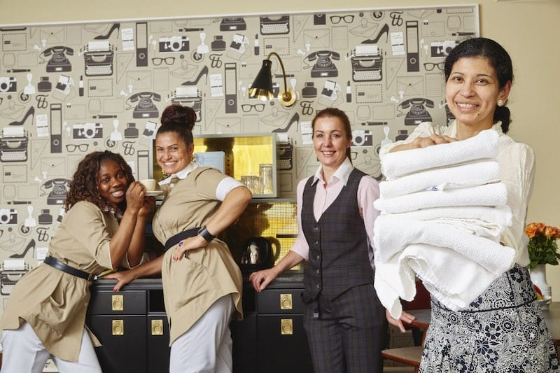 Das Housekeeping Team Hamburg